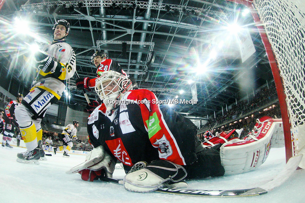 Miitch O'Keefe - 25.01.2015 - Rouen / Amiens - Finale Coupe de France 2015 de Hockey sur glace<br /> Photo : Xavier Laine / Icon Sport