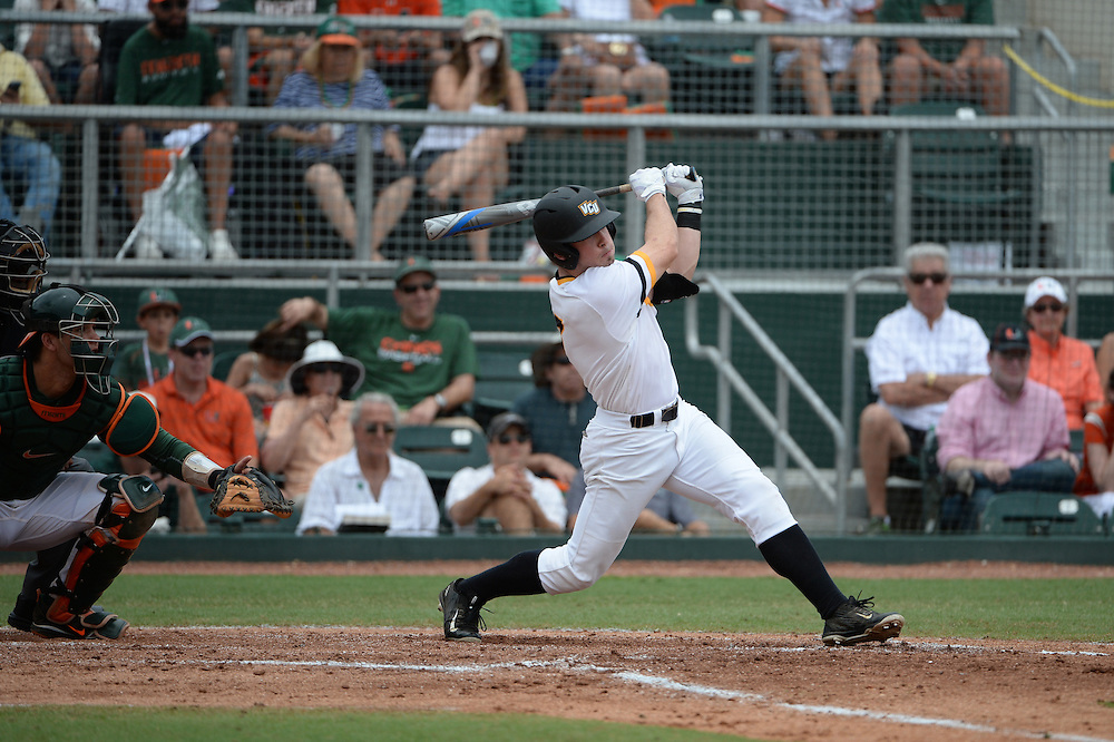 2015 Virginia Commonwealth Baseball vs Miami @ Coral Gables Super Regional