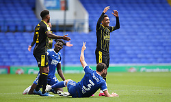 Jayden Mitchell-Lawson of Bristol Rovers reacts to a decision against him - Mandatory by-line: Arron Gent/JMP - 05/09/2020 - FOOTBALL - Portman Road - Ipswich, England - Ipswich Town v Bristol Rovers - Carabao Cup