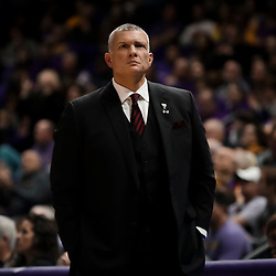 Jan 19, 2019; Baton Rouge, LA, USA; South Carolina Gamecocks head coach Frank Martin during the first half against the LSU Tigers at the Maravich Assembly Center. Mandatory Credit: Derick E. Hingle-USA TODAY Sports