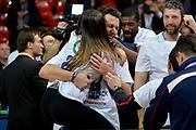 DESCRIZIONE : Final Eight Coppa Italia 2015 Finale Olimpia EA7 Emporio Armani Milano - Dinamo Banco di Sardegna Sassari<br /> GIOCATORE : Giacomo De Vecchi<br /> CATEGORIA : esultanza post game post game<br /> SQUADRA : Banco di Sardegna Sassari<br /> EVENTO : Final Eight Coppa Italia 2015<br /> GARA : Olimpia EA7 Emporio Armani Milano - Dinamo Banco di Sardegna Sassari<br /> DATA : 22/02/2015<br /> SPORT : Pallacanestro <br /> AUTORE : Agenzia Ciamillo-Castoria/Max.Ceretti