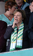 Plymouth -Saturday September 13th 2008: Delia Smith, chair person of Norwich City during the Coca Cola Championship match at Plymouth.(Pic by Tony Carney/Focus Images)