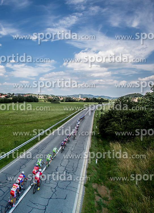 Peleton during Stage 4 from Skofja Loka to Novo Mesto (153 km) of cycling race 21st Tour of Slovenia, on June 22, 2014 in Slovenia. Photo By Urban Urbanc / Sportida