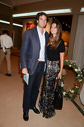 RUPERT FINCH and his wife LADY NATASHA RUFUS ISAACS at the Masterpiece Midsummer Party in aid of Marie Curie Cancer Care held at The Royal Hospital Chelsea, London on 2nd July 2013.
