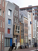 contemporary architecture in Amsterdam Java Island build in 1995
