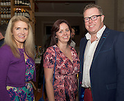 Mary Hughes, Slimming world Claregalway and Gina Dooley from Doughuisce with @Galwayhour 's Philip Gleeson at the launch of Quickest Fox Marketing's latest Twitter sensation #galwayhour took place at the the Gaslight Bar & Brasserie at Hotel Meyrick.  Photo:Andrew Downes.