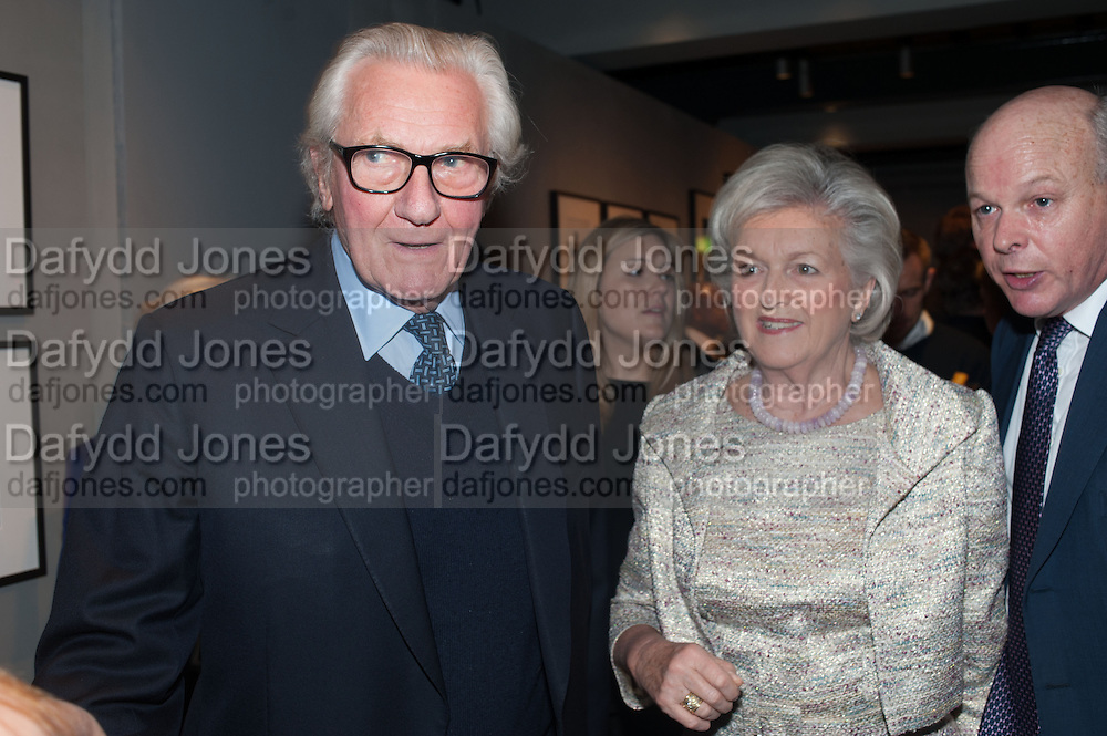 SIR MICHAEL HESELTINE; LADY HESELTINE, The English Gentleman at the  The Cabinet War Rooms, supported by Chivas deluxe blended Scotch whisky. Whitehall. London. 7 January 2013.