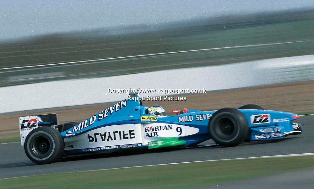Giancarlo Fiisichella Benetton F1, Formula One Testing Silverstone, June 1999
