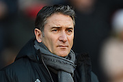 Nottingham Forest manager Philippe Montanier during the EFL Sky Bet Championship match between Nottingham Forest and Barnsley at the City Ground, Nottingham, England on 2 January 2017. Photo by Jon Hobley.