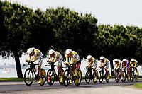 Sykkel<br /> Giro de Italia<br /> 09.05.2009<br /> Foto: Photonews/Digitalsport<br /> NORWAY ONLY<br /> <br /> Lido di Venezia - Italia- wielrennen - cycling - radsport - cyclisme - 1e etappe ploegentijdrit Ronde van Italie - 110 jaar Giro di Italia -  Team Columbia High Road <br /> Edvald Boasson Hagen