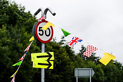Bunting along the Stage 1 Route in Otley - Photo mandatory by-line: Rogan Thomson/JMP - 07966 386802 - 04/07/2014 - SPORT - CYCLING - Yorkshire - Le Tour de France Grand Depart Previews.