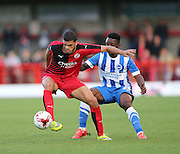 Shamir Fenelon during the Pre-Season Friendly match between Crawley Town and Brighton and Hove Albion at the Checkatrade.com Stadium, Crawley, England on 22 July 2015.