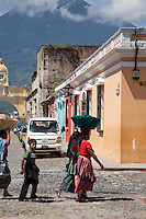 Taking a wander around the fascinating and beautiful streets of Antigua, Guatemala.