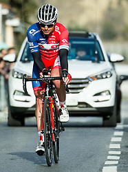 GOLČER Jure (SLO) of Adria Mobil at finish line during the UCI Class 1.2 professional race 4th Grand Prix Izola, on February 26, 2017 in Stunjan, Slovenia. Photo by Vid Ponikvar / Sportida