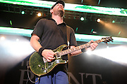 The Urge performing at Pointfest at Verizon Wireless Amphitheater in St. Louis on August 20, 2011. © Todd Owyoung.