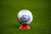 2017-18 Mitre EFL Football during the EFL Sky Bet League 1 match between Northampton Town and Fleetwood Town at Sixfields Stadium, Northampton, England on 12 August 2017. Photo by Dennis Goodwin.