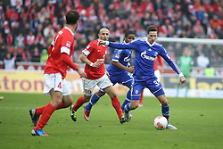 16.02.2013, Coface Arena, Mainz, GER, 1. FBL, 1. FSV Mainz 05 vs FC Schalke 04, 22. Runde, im Bild v.l.: Elkin Soto (MZ) gegen Julian Draxler (S04) // during the German Bundesliga 22th round match between 1. FSV Mainz 05 and FC Schalke 04 at the Coface Arena, Mainz, Germany on 2013/02/16. EXPA Pictures © 2013, PhotoCredit: EXPA/ Eibner/ Matthias Neu ***** ATTENTION - OUT OF GER *****