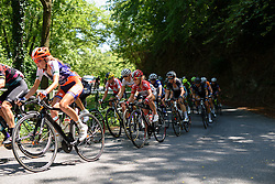 Emma Pooley (Lotto Soudal) at Giro Rosa 2016 - Stage 6. A 118.6 km road race from Andora to Alassio, Italy on July 7th 2016.