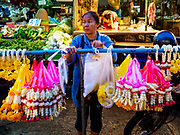 22 MAY 2018 - BANGKOK, THAILAND:   at Khlong Toei Market in Bangkok. It is the largest wet market in Thailand.      PHOTO BY JACK KURTZ