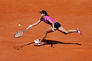 Roland Garros. Paris, France. May 28th 2012.Chinese player Na LI against Sorana CIRSTEA...