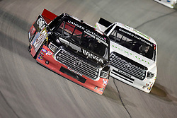 March 1, 2019 - Las Vegas, Nevada, U.S. - LAS VEGAS, NV - MARCH 01: Brennan Poole (30) Steven Lane Toyota Tundra racing during the Gander Outdoors Truck Series Strat 200 race on March 1, 2019, at Las Vegas Motor Speedway in Las Vegas, NV. (Photo by David Allio/Icon Sportswire) (Credit Image: © David Allio/Icon SMI via ZUMA Press)