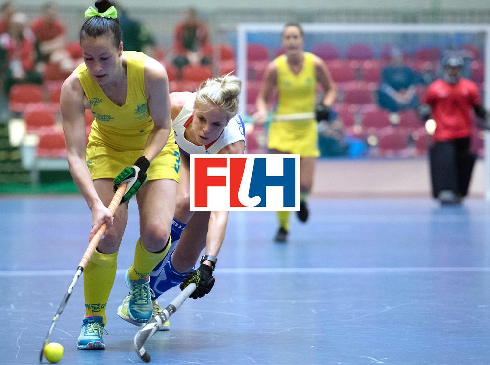 BERLIN - Indoor Hockey World Cup<br /> Australia - Namibia<br /> foto: BUNT Tamsin<br /> WORLDSPORTPICS COPYRIGHT FRANK UIJLENBROEK