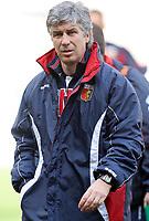 """L'Allenatore del Genoa Gianpiero Gasperini<br /> Genoa Trainer Gianpiero Gasperini<br /> Italian """"Serie B"""" 2006-07<br /> 03 Mar 2007 (Match Day 26)<br /> Genoa-Lecce (1-0)<br /> """"Luigi Ferraris""""-Stadium-Genova-Italy<br /> Photographer: Luca Pagliaricci INSIDE"""