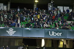 November 8, 2018 - Seville, Spain - Uber advertising in the Europa League Group F soccer match between Real Betis and AC Milan at the Benito Villamarin Stadium (Credit Image: © Daniel Gonzalez Acuna/ZUMA Wire)