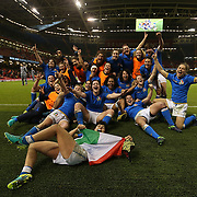 20180311 Rugby 6 Nations women : Galles v Italia