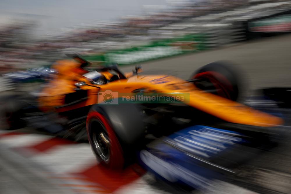 May 25, 2019 - Monte Carlo, Monaco - Motorsports: FIA Formula One World Championship 2019, Grand Prix of Monaco, ..#55 Carlos Sainz jr. (ESP, McLaren F1 Team) (Credit Image: © Hoch Zwei via ZUMA Wire)