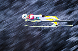 12.03.2018, Lysgards Schanze, Lillehammer, NOR, FIS Weltcup Ski Sprung, Raw Air, Lillehammer, im Bild Vladimir Zografski (BUL) // Vladimir Zografski of Bulgaria during the 2nd Stage of the Raw Air Series of FIS Ski Jumping World Cup at the Lysgards Schanze in Lillehammer, Norway on 2018/03/12. EXPA Pictures © 2018, PhotoCredit: EXPA/ JFK