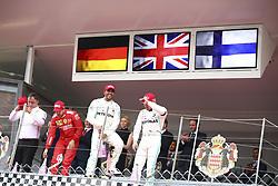 May 26, 2019 - Monte Carlo, Monaco - Motorsports: FIA Formula One World Championship 2019, Grand Prix of Monaco, ..Ron Meadows (GBR, Mercedes AMG Petronas Motorsport), #5 Sebastian Vettel (GER, Scuderia Ferrari Mission Winnow), #44 Lewis Hamilton (GBR, Mercedes AMG Petronas Motorsport), #77 Valtteri Bottas (FIN, Mercedes AMG Petronas Motorsport) (Credit Image: © Hoch Zwei via ZUMA Wire)
