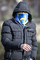 © Licensed to London News Pictures . IKLAQ CHOUDHRY HUSSAIN ( also referred to as Choudhry Ikhalaq Hussain ) pictured arriving at Bury Magistrates Court on 3rd March 2015 . Hussain , who was convicted of rape , sexual activity with a child and conspiracy to rape , is believed to be on the run , after being convicted in his absence . Hussain was given permission to attend a funeral , after claiming a relative had died , however police believe he fled the country and may now be in Pakistan . Photo credit : Joel Goodman/LNP