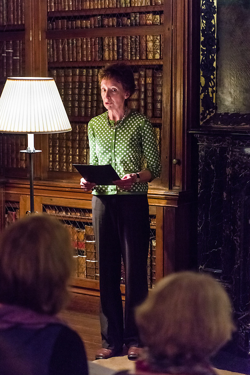 Scotts treasures ~ New Poetry Showcase evening, held at Sir Walter Scotts former home, Abbotsford House. Poets interested in Sir Walter Scott's magnificent collection of quirky treasures were invited to take part in three writing workshops at Abbotsford to inspire new poems around the collections. The workshops were run by Borders poets Julian Colton, Anita John and Dorothy Alexander in June 2014, with further support  given to poets over the summer. <br />