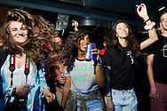 Attendees dance at Red Bull Sound Select at the 1Up Colfax in Denver, CO, USA, on 29 May, 2014.