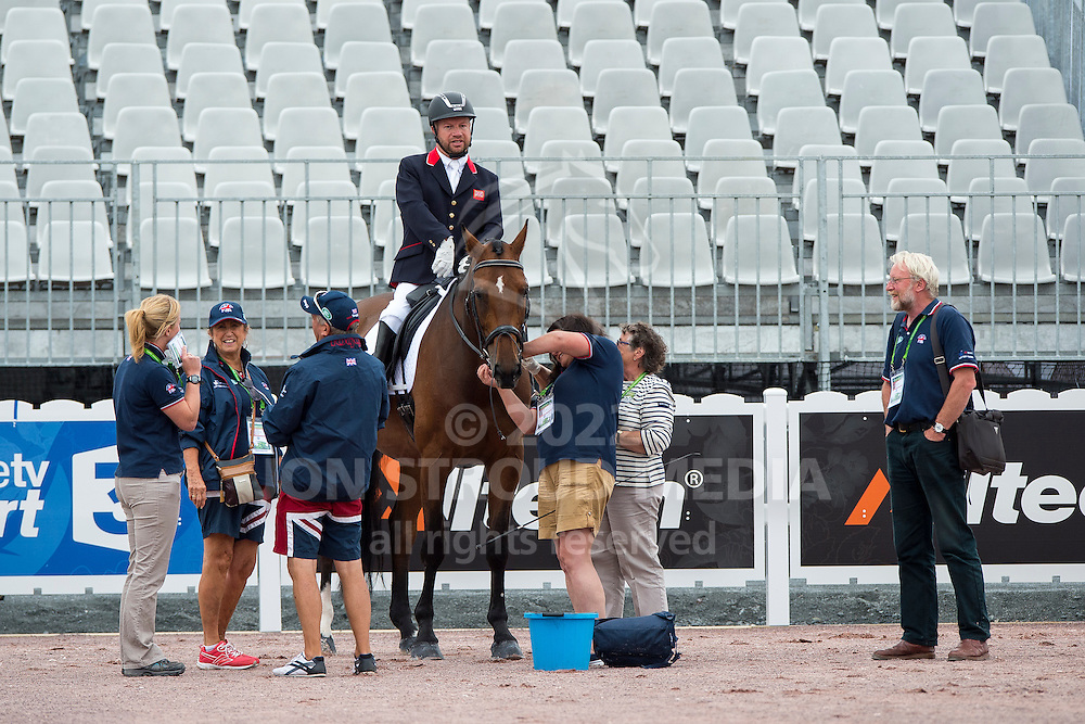 Lee Pearson, (GBR), Zion - Individual Test Grade Ib Para Dressage - Alltech FEI World Equestrian Games&trade; 2014 - Normandy, France.<br /> &copy; Hippo Foto Team - Jon Stroud <br /> 25/06/14
