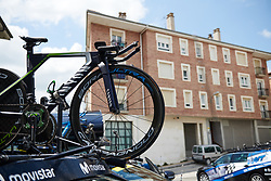 Movistar Women's Team at Emakumeen Bira 2018 - Stage 2, a 26.6 km time trial from Agurain to Gasteiz, Spain on May 20, 2018. Photo by Sean Robinson/Velofocus.com