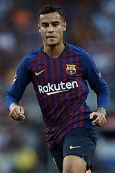 September 18, 2018 - Barcelona, Barcelona, Spain - Philippe Coutinho of FC Barcelona looks on during the UEFA Champions League group B match between FC Barcelona and PSV Eindhoven at Camp Nou on September 18, 2018 in Barcelona, Spain  (Credit Image: © David Aliaga/NurPhoto/ZUMA Press)