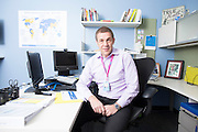 BENTONVILLE, AR:  CEO of Walmart International David Cheesewright being interviewed and photographed in his office at Walmart's Home Office in Bentonville, Arkansas on April, 17, 2014. <br /> CREDIT: Wesley Hitt for the Wall Street Journal<br /> 31399