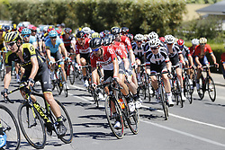 January 18, 2018 - Glenelg, AUSTRALIA - Belgian Thomas De Gendt of Lotto Soudal (C) pictured in the pack of the riders during stage 3 of the Tour Down Under cycling race, 120,5km from Glenelg to Victor Harbor, Thursday 18 January 2018 in Australia. The stage is shortened because of the extreme temperatures that are expected in Western Australia on Thursday. This years edition of the race is taking place from January 16th to January 21st...BELGA PHOTO YUZURU SUNADA. (Credit Image: © Yuzuru Sunada/Belga via ZUMA Press)