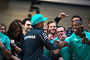 April 20, 2014 - Shanghai, China. UBS Chinese Formula One Grand Prix. Lewis Hamilton (GBR), Mercedes Petronas