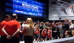 Bristol Flyers players are presented to Sponsors and fans - Mandatory by-line: Robbie Stephenson/JMP - 12/09/2016 - BASKETBALL - Ashton Gate Stadium - Bristol, England - Bristol Flyers Sponsors Event