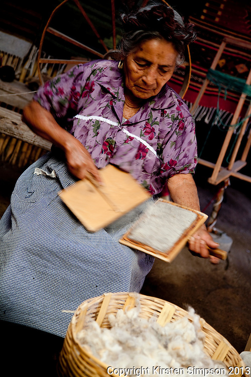 Weaving in Teotitlan Del Valle