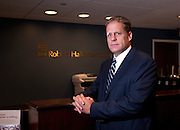 Duane E. Sauer, CPA Division Director at Robert Half Finance and Accounting, in Hartford, CT. on August 25, 2011. Executive, Corporate and CEO Photography done on location using the environment as the background.