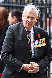 The Duke of Gloucester attends the Anzac Day Service of Commemoration and Thanksgiving at Westminster Abbey, London. Photo credit should read: Doug Peters/EMPICS