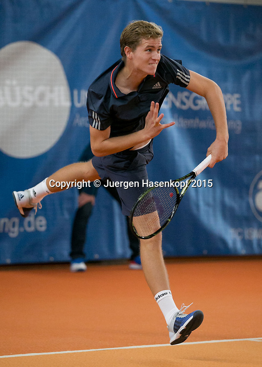 Johannes Haerteis (GER))<br /> <br /> Tennis - Ismaning Open 2015 - ITF 10.000 -  TC Ismaning - Ismaning - Bavaria - Germany - 31 October 2015. <br /> &copy; Juergen Hasenkopf