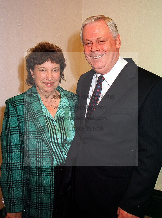 MR & MRS TERRY MAJOR-BALL brother of former Prime Minister John Major, at a party in London on 11th October 1999.MXK 56