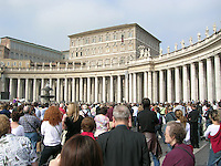 Blessing by the Pope Vatican City Rome Italy