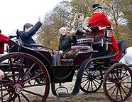 Danish Royals at Annual Fox Hunt - 5 Nov 2017