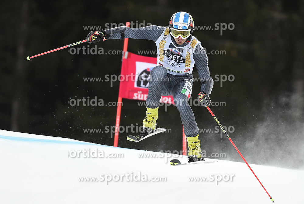 18.12.2016, Grand Risa, La Villa, ITA, FIS Weltcup Ski Alpin, Alta Badia, Riesenslalom, Herren, 1. Lauf, im Bild Manfred Moelgg (ITA) // in action during 1st run of men's Giant Slalom of FIS ski alpine world cup at the Grand Risa in La Villa, Italy on 2016/12/18. EXPA Pictures © 2016, PhotoCredit: EXPA/ Erich Spiess